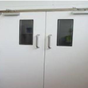 Double Swing Personnel Doors